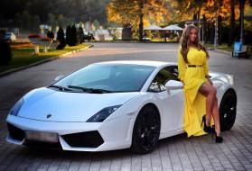 обои для рабочего стола 2048x1397 автомобили, -авто с девушками, софья, темникова, sofia, temnikova