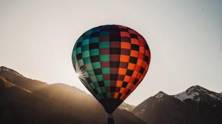 авиация, воздушные шары дирижабли, воздушный, шар, солнце, воздухоплавание