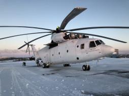 тяжелый, вертолет, ми-26т, автор фото ао одк