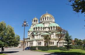 собор святого александра невского, города, софия , болгария, собор, святого, александра, невского, храм, православие, софия