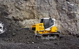 liebherr pr 716 litronic, техника, бульдозеры, карьер, скальная, порода, liebherr, pr, 716, litronic, бульдозер, добыча, камня