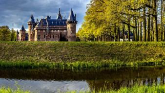 haar castle, города, замки нидерландов, haar, castle
