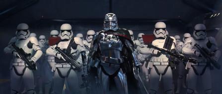 кино фильмы, star wars episode ix,  the rise of skywalker, captain, phasma