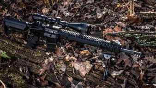 обои для рабочего стола 3840x2160 оружие, снайперская винтовка, spr, ar-15