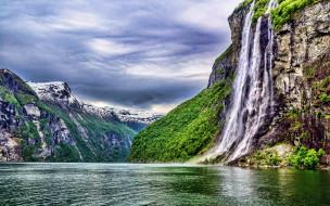 обои для рабочего стола 1920x1200 природа, водопады, поток, водопад, вода