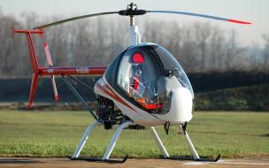 итальянская компания, двухместный вертолет, сh7, helisport, легкий