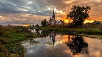 города, - православные церкви,  монастыри, село, дунилово, ивановская, область