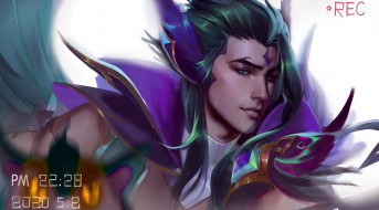 видео игры, league of legends, ракан, лицо