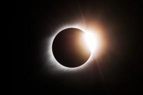 космос, разное, другое, солнечное, затмение