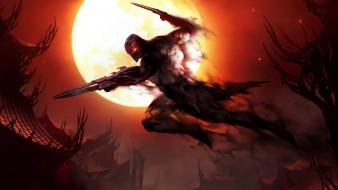 видео игры, league of legends, луна, воин