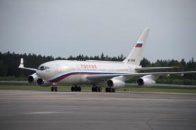 ил- 96, авиация, пассажирские самолёты, ил-, 96, самолёт, россия, полоса, аэродром