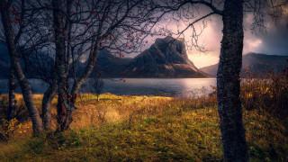 обои для рабочего стола 2560x1440 природа, реки, озера, норвегия