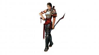 видео игры, pathfinder roleplaying game, девушка, фон, взгляд, униформа