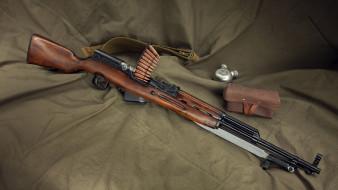 обои для рабочего стола 1920x1080 оружие, ружья, мушкеты, винчестеры, скс, самозарядный, карабин, симонова