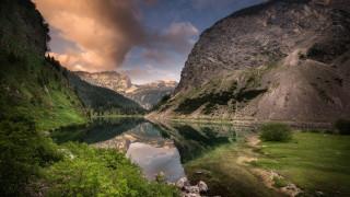 природа, реки, озера, национальный, парк, триглав, словения