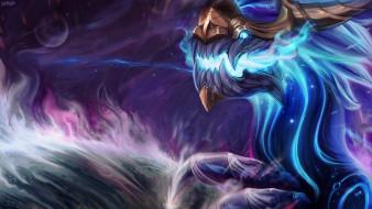 видео игры, league of legends, монстр, аурелион, сол