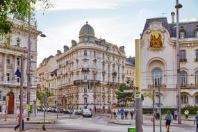 вена, города, вена , австрия, город, алицы, здания, дома, люди, автомобили