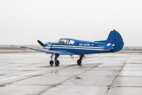 як- 18т, авиация, лёгкие одномоторные самолёты, як-, 18т, самолёт, аэродром