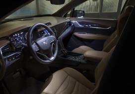 2020 cadillac xt6, автомобили, интерьеры, салон, панель, управления, руль, кресло, cadillac