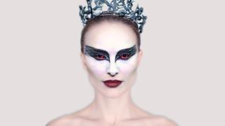 кино фильмы, black swan, natalie, portman, лицо, макияж, корона