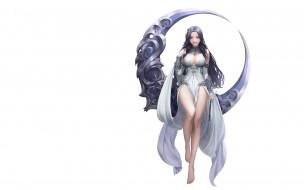 видео игры, league of angels, девушка, наряд, месяц