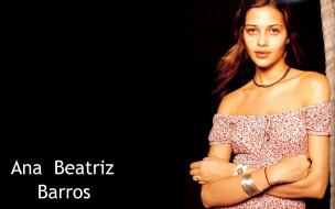 обои для рабочего стола 1920x1200 девушки, ana beatriz barros, модель, шатенка, платье, украшения