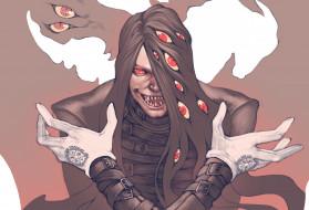 аниме, hellsing, alucard