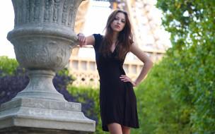 девушка в чёрном белье, девушки, anna sbitnaya, девушка, красивая, супер, секси, няша, нежная, классная, модница, лапочка, мадам