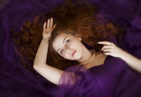 девушка в фиолетовом белье, девушки, - рыжеволосые и разноцветные, девушка, красивая, супер, секси, няша, нежная, классная, модница, лапочка, мадам