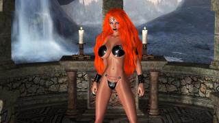 3д графика, фантазия , fantasy, девушка, фон, взгляд, свечи, униформа