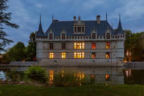 chateau azay le rideau, города, замки франции, chateau, azay, le, rideau