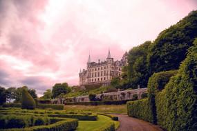 dunrobin castle, scotland, города, замки англии, dunrobin, castle