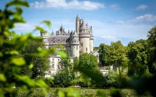 pierrefonds castle, chateau de pierrefonds, города, замки франции, pierrefonds, castle, chateau, de