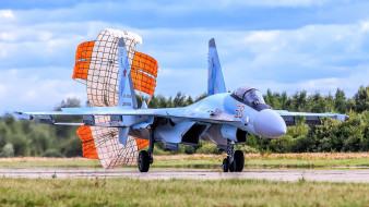 авиация, боевые самолёты, су-35