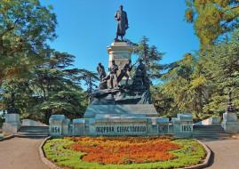 севастополь, города, - памятники,  скульптуры,  арт-объекты, крым, город, памятник, деревья