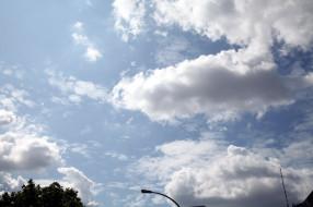 природа, облака, лето, небо