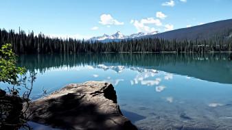 emerald lake, yoho national park, british columbia, canada, природа, реки, озера, emerald, lake, yoho, national, park, british, columbia