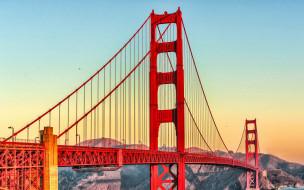города, сан-франциско , сша, golden, gate, bridg