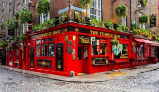 города, дублин , ирландия, бар