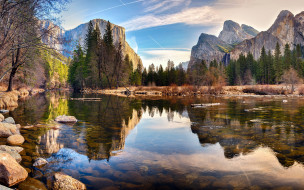 yosemite national park, usa, природа, реки, озера, yosemite, national, park