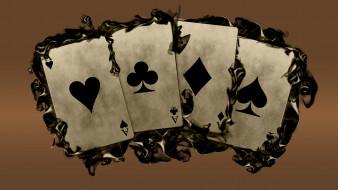 разное, настольные игры,  азартные игры, фон, карты, туз
