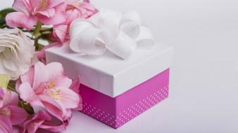 праздничные, подарки и коробочки, подарок, бант, лента