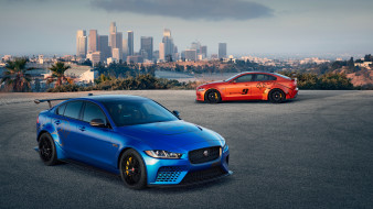 2018 jaguar xe sv project 8, автомобили, jaguar, 2018, xe, sv, project, 8, мощный, ягуар, седан, город
