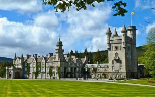 balmoral castle, scotland, города, замки англии, balmoral, castle