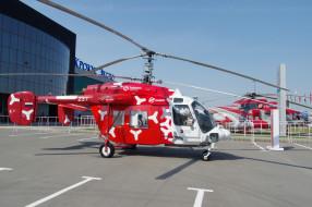 КА- 226Т, вертолёты, стоянка, лопасти