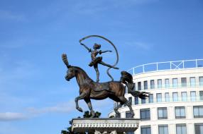 города, минск , беларусь, скульптура