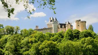 Chateau  de Chabenet обои для рабочего стола 1920x1080 chateau  de chabenet, города, замки франции, chateau, de, chabenet
