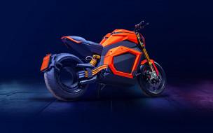 2020 verge ts, мотоциклы, другое, verge, ts, вид, сзади, 2020, года, супербайк, электрические