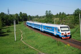 ДТ- 1 обои для рабочего стола 1930x1292 дт- 1, техника, поезда, дт-, 1, дизель, поезд, рельсы, шпалы