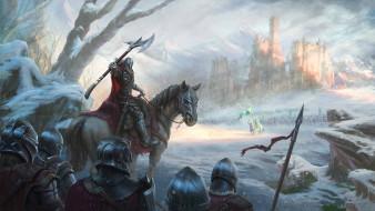 люди, фон, конь, униформа, оружие